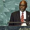 Foreign Minister Phandu T.C. Skelemani of Botswana