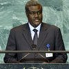 Foreign Minister Moussa Faki Mahamat of the Republic of Chad