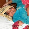 Young mother in Baran Hospital, Rajasthan, India (file photo)