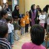 Des femmes et des enfants iraniens.