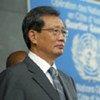 Le représentant spécial du Secrétaire général de l'ONU en Côte d'Ivoire, YJ Choi.