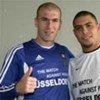 Zinédine Zidane et Ronaldo.