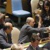 Election par l'Assemblée générale de cinq membres non permanents du Conseil de sécurité.