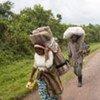 Les combats entre la rebellion et les forces armées congolaises ont forcé des milliers de gens à fuir dans le Nord-Kivu.