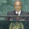 Le président sortant des Maldives, Maumun Abdul Gayoom.