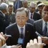 Secretary General Ban Ki-moon visits the birthplace of Buddha in Lumbini