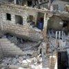 Escuela colapsada<br>en Puerto Príncipe