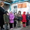 Pre-school students in Ivanovka, Kyrgyzstan now have more space after their school was expanded