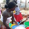 Clean water is essential in containing the spread of cholera
