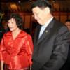 ESCAP Executive Secretary Noeleen Heyzer and Indonesian Foreign Minister N. Hassan Wirajuda
