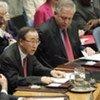 Secretary-General Ban Ki-moon (centre) addresses Security Council meeting on Somalia