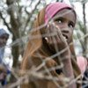 Une fillette réfugiée dans un des camps surpeuplés à Dadaab, au Kenya.