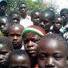 Des enfants déplacés à Tadu, dans le nord-est de la RDC, frappé par les attaques sanglantes des rebelles de la LRA.