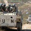 联黎部队在南黎巴嫩巡逻