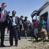 Under-Secretary-General Alain Le Roy visits Cité Soleil