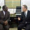 الأمين العام مع تسفانجيراي