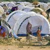Makeshift shelters and new tents at Ifo Camp in Dadaab late last year.