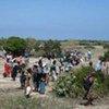 Des milliers de civils fuient les combats au nord du Sri Lanka.