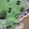 Erosion des sols au Kenya.