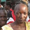 Congolese refugees fleeing attacks from the Lord's Resistance Army arrive in South Sudan