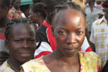 Une femme congolaise ayant fui les attaques des rebelles de la LRA en RDC.