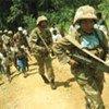 Des élements de la Mission de stabilisation de l'ONU en RDC (MONUSCO)