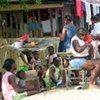 Afrodescendientes colombianos en Boyoya.