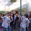 Des enfants palestiniens dans une école gérée par l'UNRWA à Gaza.