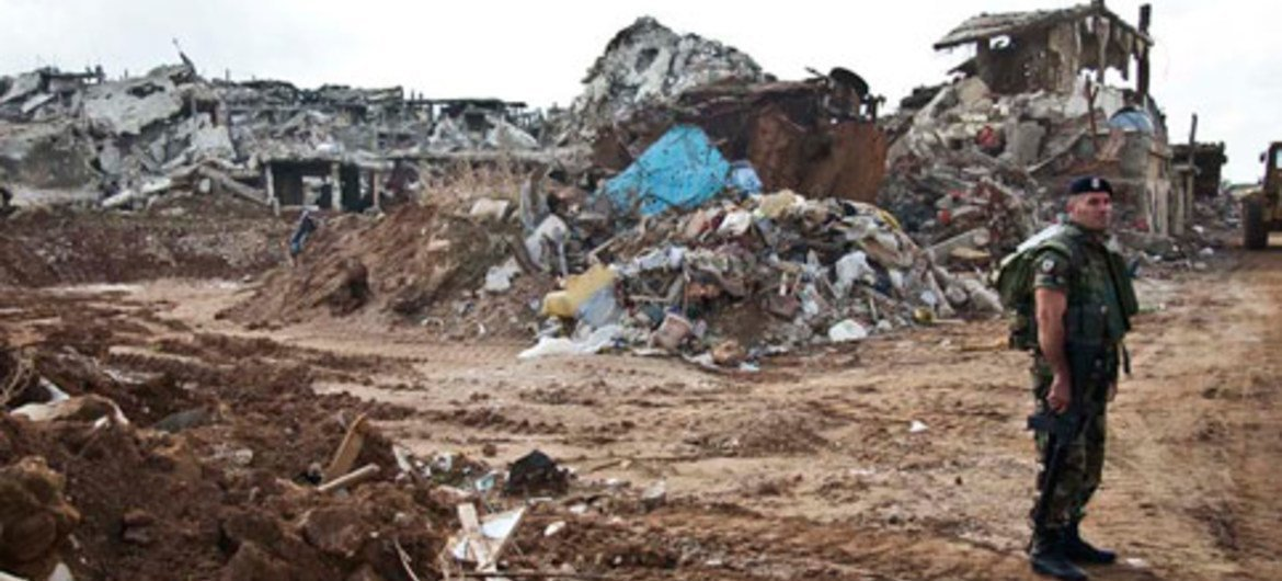 Nahr El Bared camp was destroyed by intense fighting between the Lebanese national army and Fatah el-Islam gunmen.