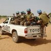 Des casques bleus de la MINUAD au Darfour