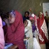 Somali refugee girls attend primary school in Awbarre refugee camp, Ethiopia