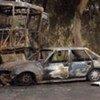 Scène d'un récent attentat suicide en Iraq.