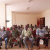 Army veterans in Guinea-Bissau on their way to being demobilized in 2009 (file)