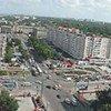 Le centre de Chisinau, capitale de la Moldova.