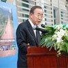 Secretary-General Ban Ki-moon visits the Lao PDR