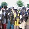 Des hommes armés dans l'Etat de Jonglei, au Soudan du Sud.