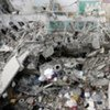 Damage caused by aerial bombardment to Gaza
