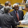 US Amb. Susan Rice  congratulated by delegates on winning a seat on Human Rights Council for the first time