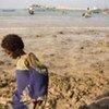 La plage de Bossasso dans le nord-est de la Somalie est le point de départ pour la traversée périlleuse du golfe d'Aden.