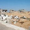 Houses destroyed by the Israeli army in Al Qerem area of East Jablia, Gaza [File Photo]