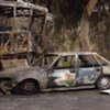 The aftermath of a suicide bombing in Iraq (file photo)
