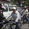 Road traffic in Nepal