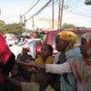 Children begging on the streets of Somalia