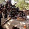 Des rebelles armés au Soudan.