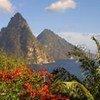 La zone des pitons à Sainte-Lucie a été inscrite sur la Liste du patrimoine mondial en 2004.