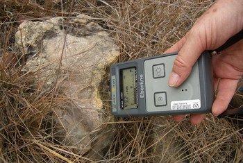 Этим прибором измеряют уровень радиационного поражения почвы