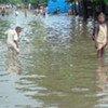 Cotonou, au Bénin, lors de précédentes inondations.