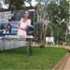 Outside the National University of Rwanda