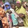 Des femmes déplacées à Mogadiscio.
