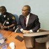 L'ancien Président du Libéria Charles Taylor lors de son procès pour crimes de guerre.